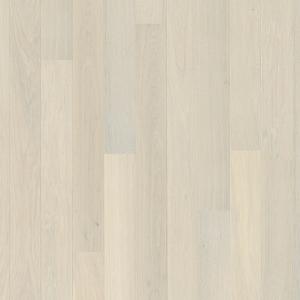 Trīsslāņu parkets Oak Andante White Plank BOEN