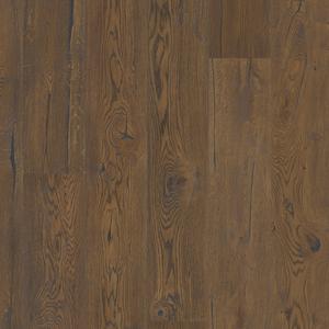 Trīsslāņu parkets Oak Antique Brown plank BOEN