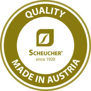 Scheucher garantijas logo