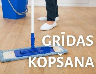 GRĪDAS KOPŠANA